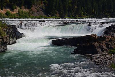Photograph - Kootenai Falls by Whispering Peaks Photography