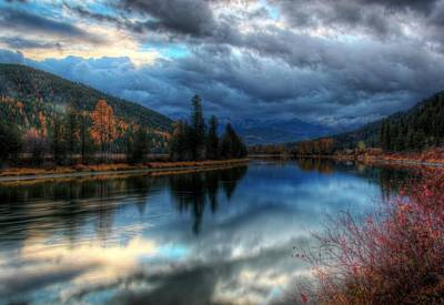 Photograph - Kootenai River And Cabinet Mountains by Robert Hosea