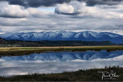World War 2 Action Photography Royalty Free Images - Kootenai Valley Reflection  Royalty-Free Image by Than Widner Photography