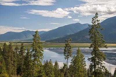 Kootenay Lake Photograph - Kootenay Lake by Christian Heeb