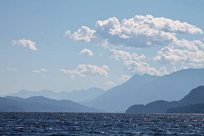Photograph - Kootenay Lake South by Cathie Douglas