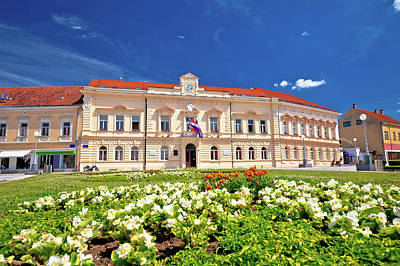 Photograph - Koprivnica Main Square Architecture View by Brch Photography