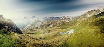 Korab Panorama Original by Ivan Vukelic