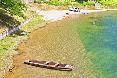 Photograph - Korana River Beach In Karlovac by Brch Photography