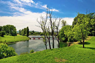 Photograph - Korana River Landscape In Karlovac by Brch Photography