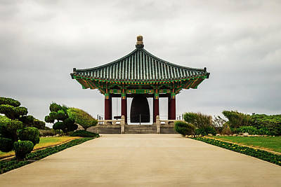 Art Print featuring the photograph Korean Bell Of Friendship by Ed Clark