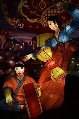 Photograph - Korean Drummers by Nadalyn Larsen