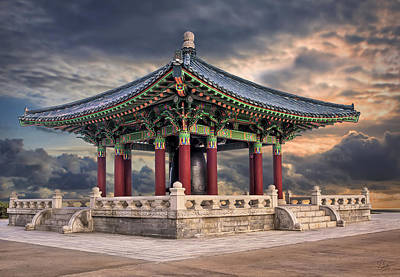 Photograph - Korean Freedom Bell 1 by Endre Balogh
