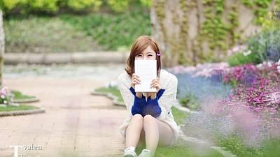 Portraits Digital Art - Korean by Super Lovely