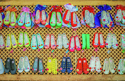 Photograph - Korean Traditional Shoes by Hyuntae Kim