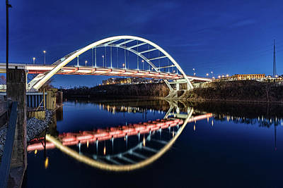 Photograph - Korean Veterans Bridge by Josh Bryant