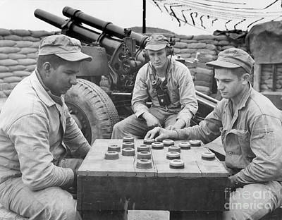 Photograph - Korean War (1950-1953) by Granger