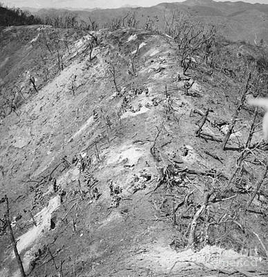Photograph - Korean War: Bloody Ridge by Granger