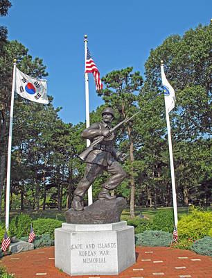 Photograph - Korean War Memorial by Barbara McDevitt