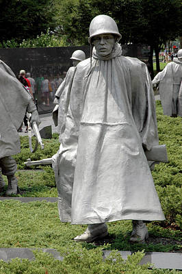 Korean War Memorial Art Print