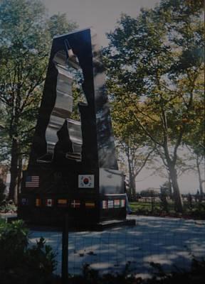 Korean War Memorial Art Print by Rob Hans