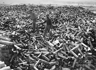 Photograph - Korean War: Shell Casings by Granger