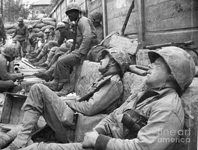 Photograph - Korean War: U.n. Troops by Granger