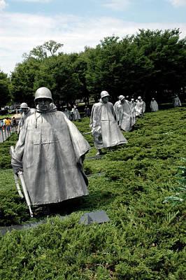 Animal Watercolors Juan Bosco - Korean War Veterans Memorial by LeeAnn McLaneGoetz McLaneGoetzStudioLLCcom