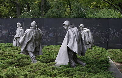 Korean War Veterans Memorial Art Print