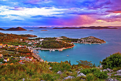 Photograph - Kornati Islands National Park Archipelago At Dramatic Sundown Vi by Brch Photography