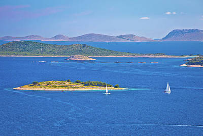 Photograph - Kornati National Park Archipelago View by Brch Photography