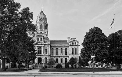 Photograph - Kosciusko County Courthouse by L O C