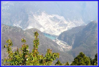 Photograph - Koteshwar Dam by Sonali Gangane