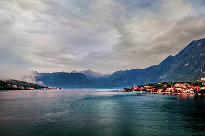 Photograph - Kotor Bay  by Maria Coulson