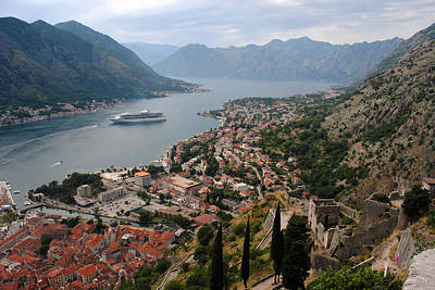 Photograph - Kotor Bay by Robert Moss