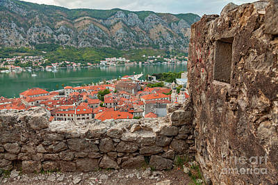Photograph - Kotor Historic City Montenegro by Sophie McAulay