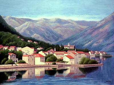 Painting - Kotor Montenegro by Janet King