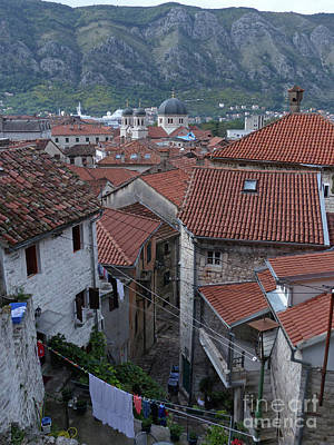 Photograph - Kotor Rooftops  by Phil Banks