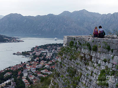 Photograph - Kotor View by Phil Banks