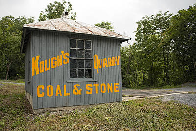 Photograph - Kough's Quarry Coal And Stone by Kristia Adams