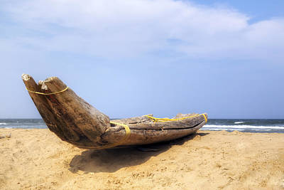 Traditionell Photograph - Kovalam Beach - India by Joana Kruse