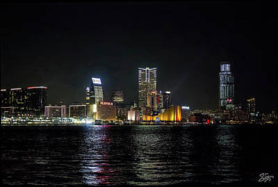Photograph - Kowloon At Night by Endre Balogh
