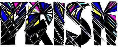 Sports Maze Drawing - Kp Unique Prism  by Kp Unique Clothing