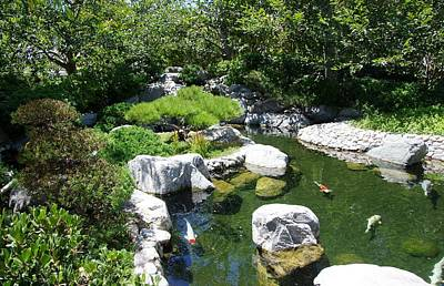 Photograph - Kpi Pond 9 Japanese Friendship Garden by Phyllis Spoor