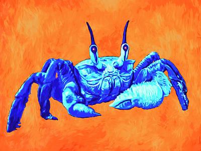 Painting - Krab Looey by Sandra Selle Rodriguez