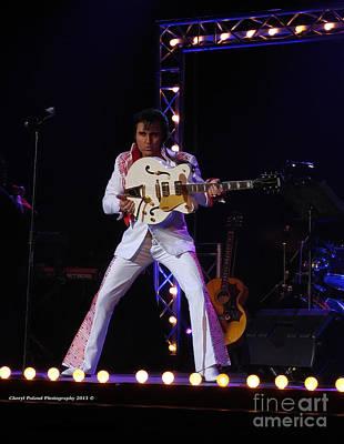 Photograph - Kraig Parker And Guitar Performance by Cheryl Poland