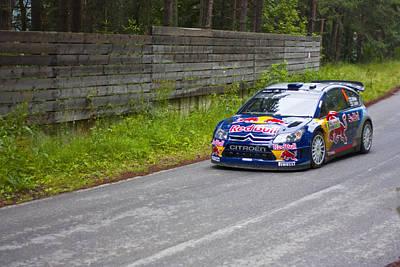 World Rally Championship Photograph - K.raikkonen/k.lindstrom by Boyan Dimitrov