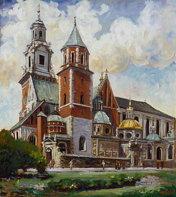 Krakow - Wawel Art Print