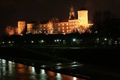 Photograph - Krakow At Night by Votus