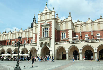 Photograph - Krakow Cloth Hall by Ramunas Bruzas