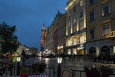Photograph - Krakow Nights by Sharon Popek