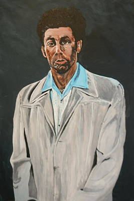 Kramer After Unknown Artist Art Print by Betty-Anne McDonald