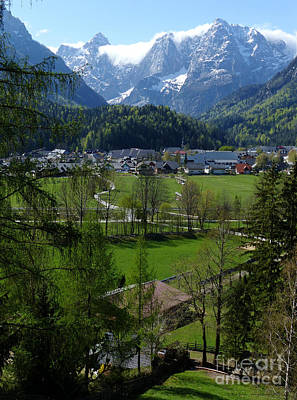 Photograph - Kranjska Gora - Springtime by Phil Banks