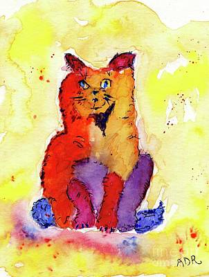 Painting - Krazy Kat by Andrea Rubinstein