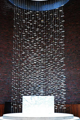 Photograph - Kresge Chapel, Mit by James Kirkikis